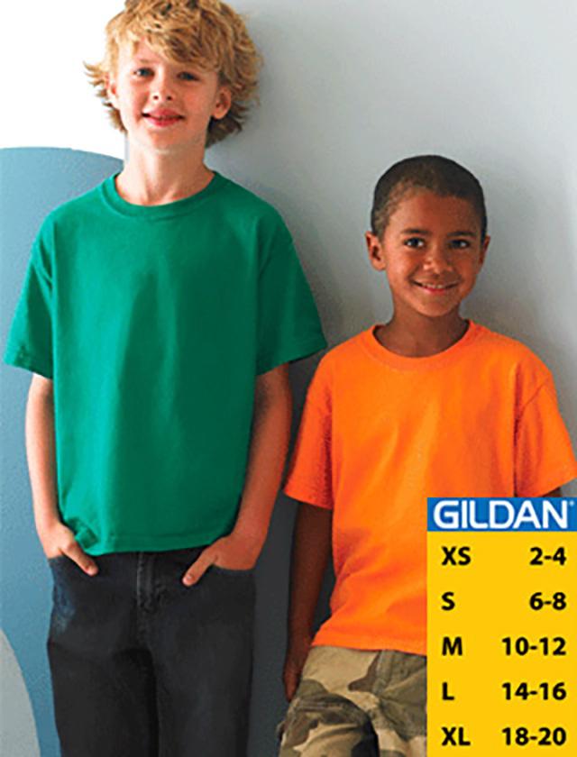 YOUTH Gildan Ultra Cotton T-shirt #2000B