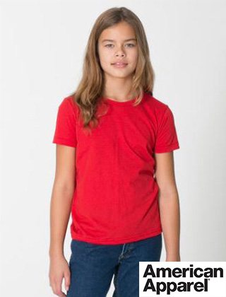 YOUTH American Apparel Fine Tee #2201W