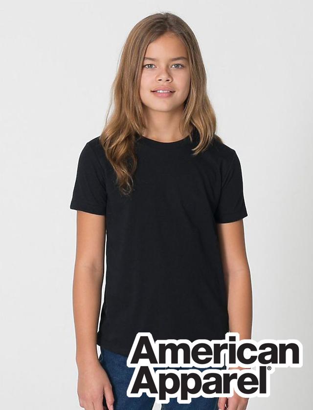 YOUTH American Apparel Fine Tee #2201W