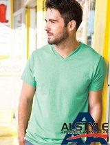 Alstyle Ringspun V-Neck T-shirt #5300