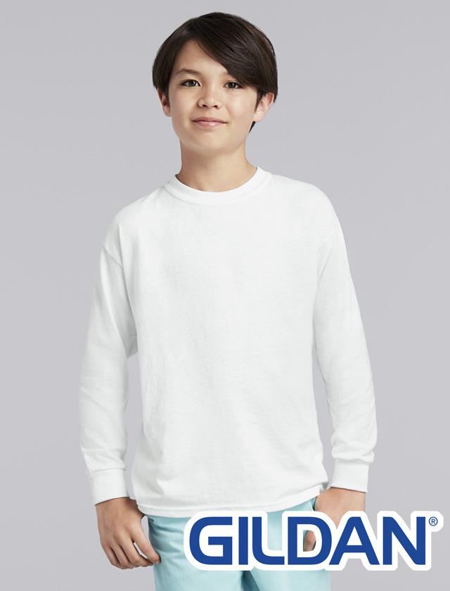 YOUTH Gildan Heavy Cotton L/S #5400B