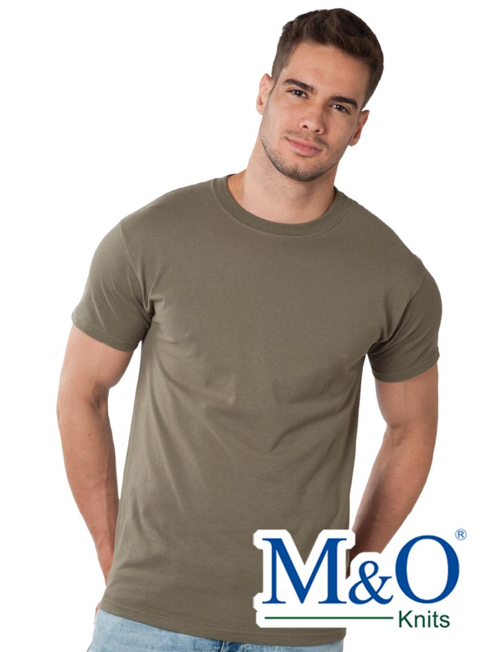 M&O Heavy Weight Ring Spun T-shirt #5500