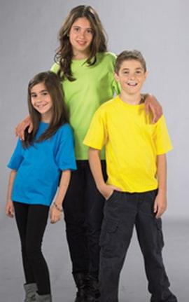 YOUTH M&O Ring Spun Cotton T-shirt  #5550