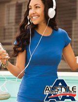Alstyle Jr. Ladies Sheer Tee #5562