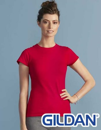 Gildan Ladies Softstyle Fitted Tee #64000L