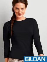 Gildan Ladies Softstyle Long Sleeve #64400L