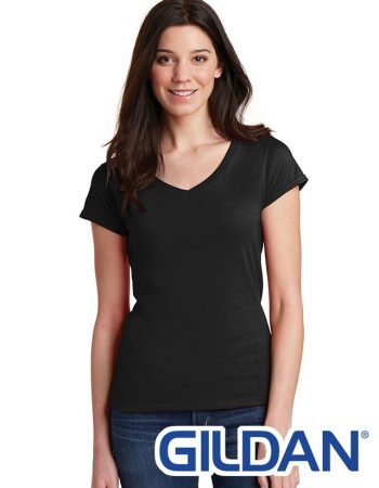 Gildan Ladies Softstyle V-Neck Tee #64V00L