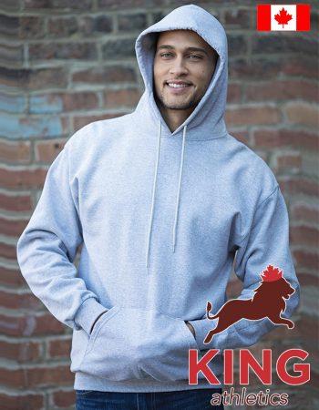 King Hooded Pullover Sweatshirt #9011