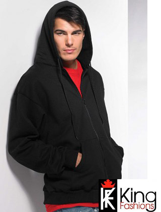 King Full Zip Hooded Sweatshirt #9017