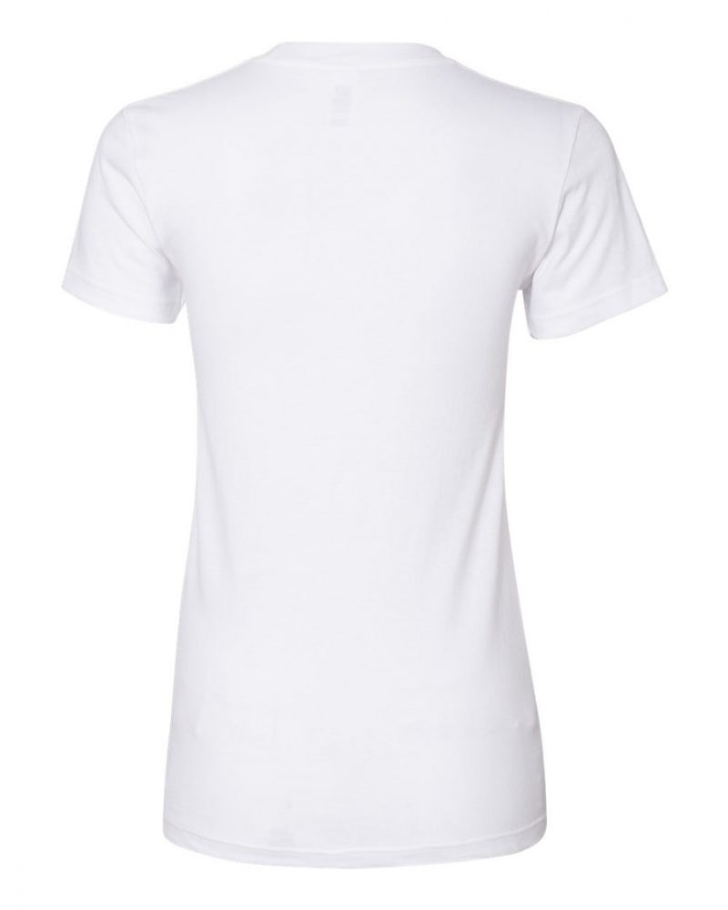 American Apparel Ladies Fine Jersey Tee #2102W