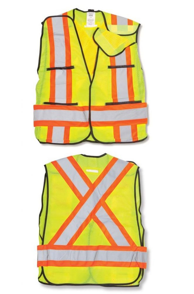 Soft Mesh Safety Vest #BK101