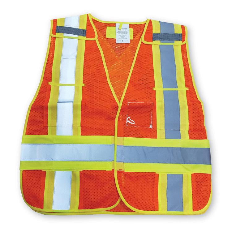 Big K Clothing Soft Mesh Safety Vest #BK101