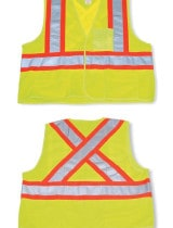Big K Clothing Polyester Safety Vest #BK204