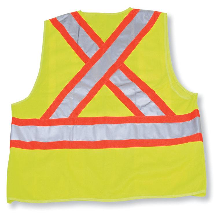 Big K Clothing Polyester Safety Vest #BK20-4-5-6