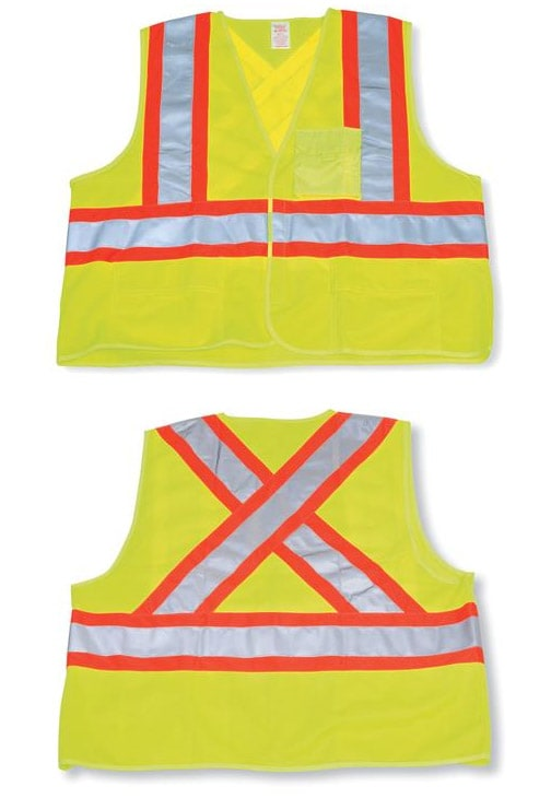 Polyester Safety Vest #BK204