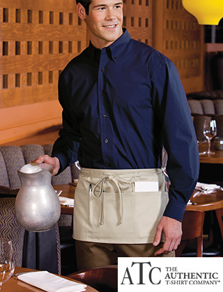 ATC Waist Apron with Pockets #A101