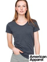 American Apparel Ladies 50/50 Tee #BB301W