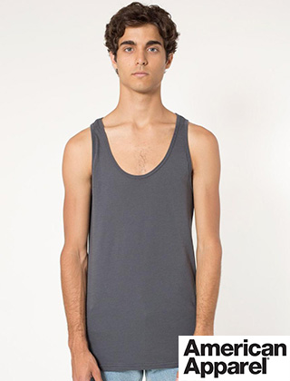 American Apparel Poly-Cotton Tank #BB408W