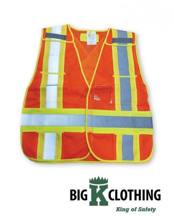 Big K Clothing Soft Mesh Safety Vest #BK101