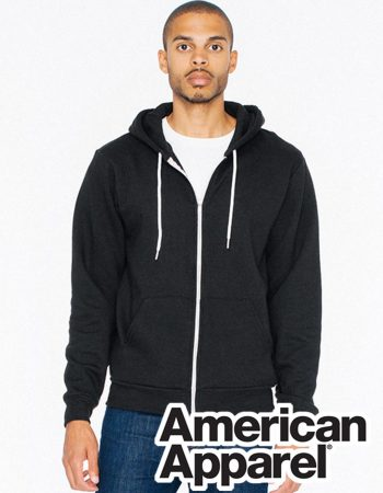 American Apparel Flex Fleece Zip Hoodie #F497W