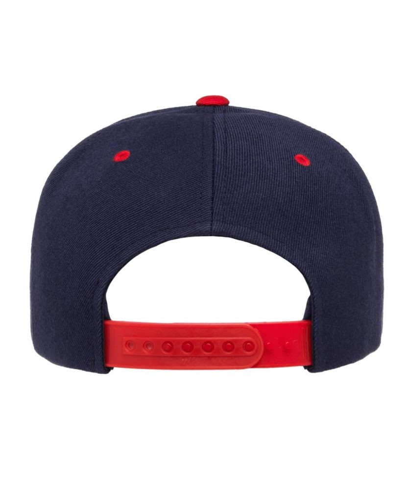 Yupoong 6-Panel Wool Blend Snap #YU6089M