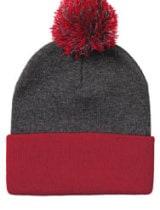 Sportsman Knit 12″ Pom Pom Toque #SP15
