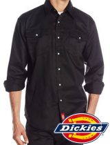 Dickies Long Sleeve Snap Work Shirt #1221