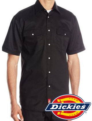 Dickies Short Sleeve Snap Work Shirt #221