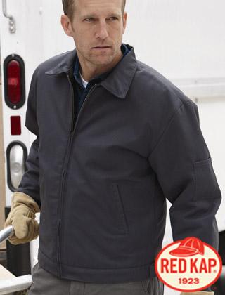 Red Kap Slash Pocket Jacket #JT22
