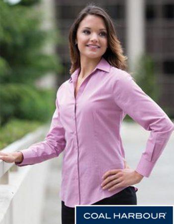 Coal Harbour Textured Ladies' Shirt #L6004