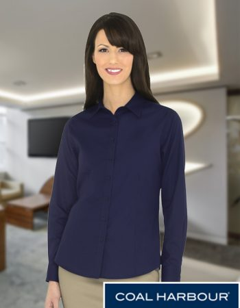 Coal Harbour Ladies Everyday Woven Long Sleeve #L6013