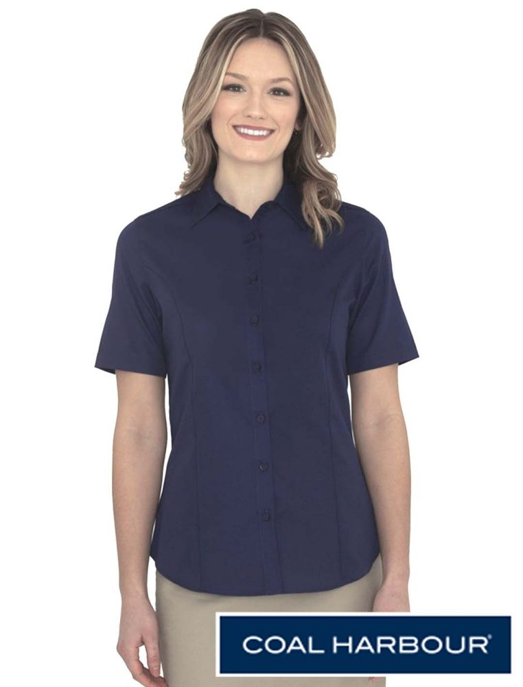 Coal Harbour Ladies Everyday Woven Shirt #L6021