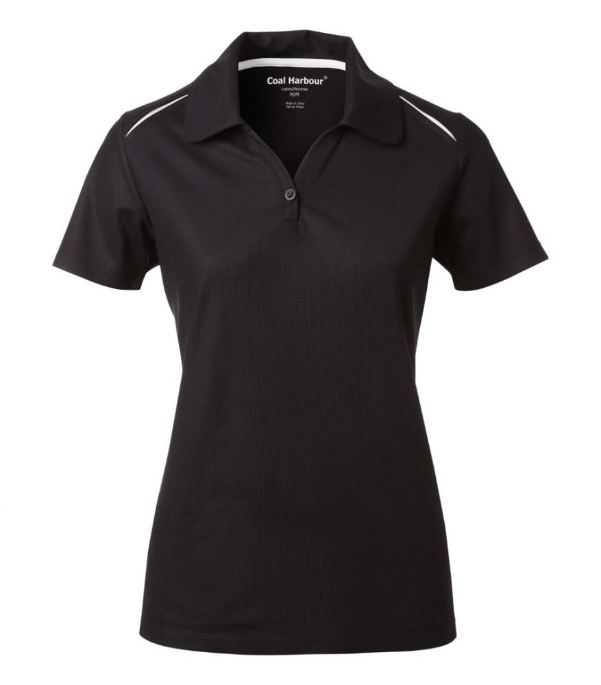 Coal Harbour Ladies Contrast Shirt #L4002