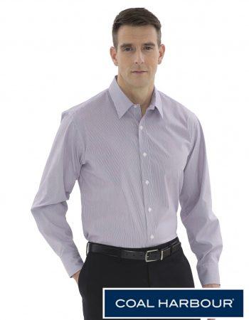 Coal Harbour Mini Stripe Woven Shirt #D6006