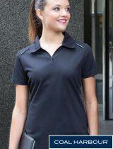 Coal Harbour Ladies Contrast Shirt #L4002