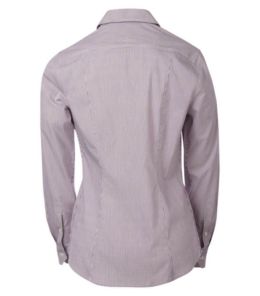 Coal Harbour Mini Stripe Ladies Shirt #L6006