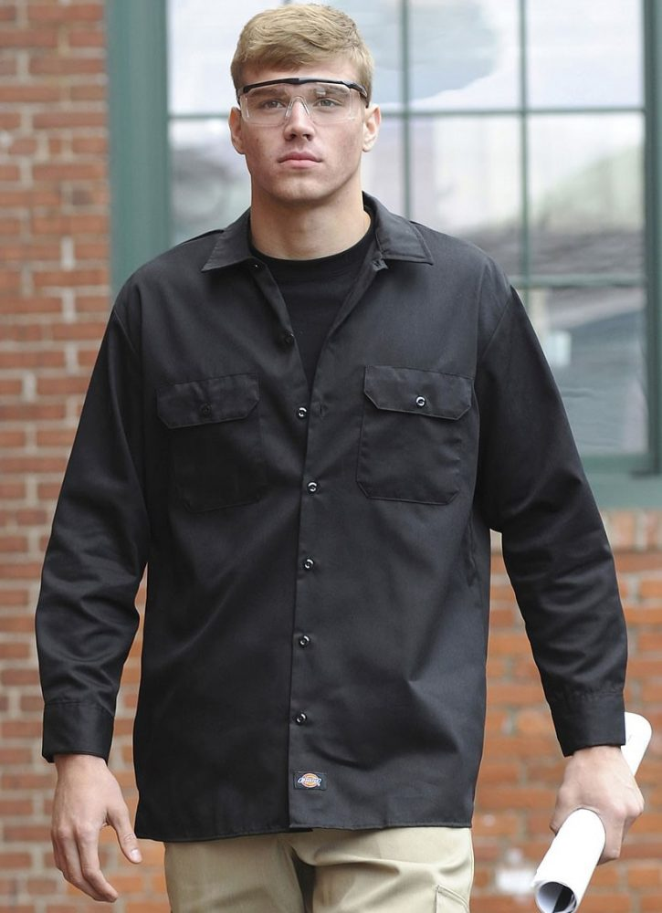 Dickies Long Sleeve Work Shirt #574