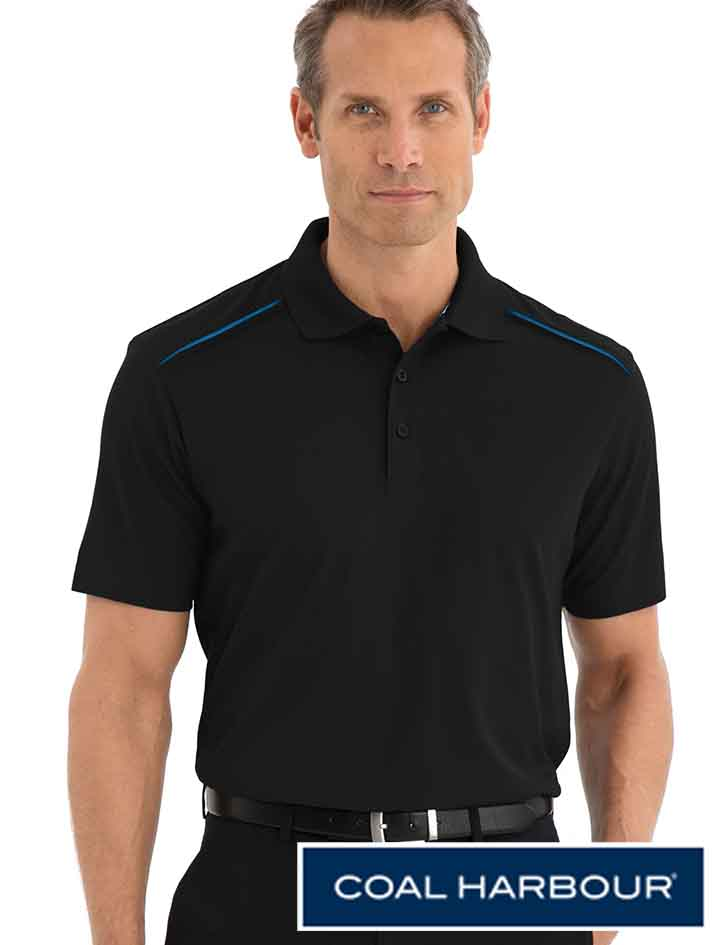 Coal Harbour Contrast Inset Shirt #S4002