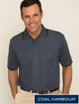 Coal Harbour Tipped Collar Shirt #S4018
