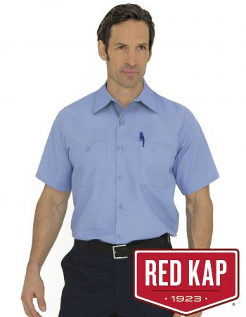 Red Kap Industrial Short Sleeve Shirt #SP24