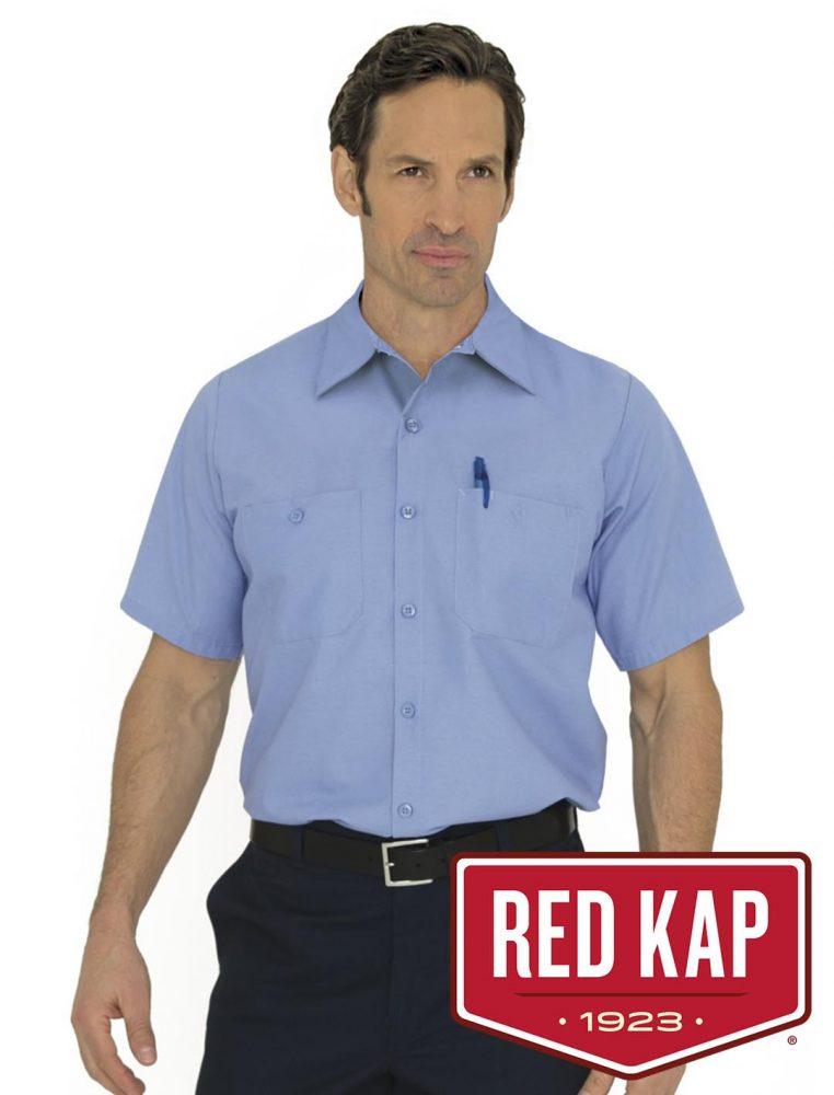 Red Kap Industrial Short Sleeve Shirt #SP24