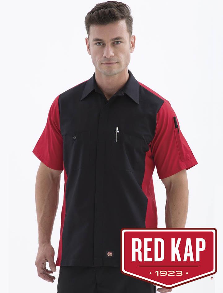 Red Kap Short Sleeve Woven Shirt #SY20