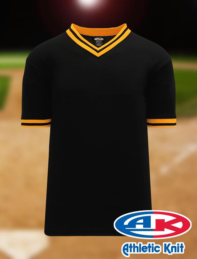 Athletic Knit Baseball Poly Pullover BA1333