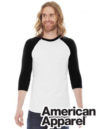 AA Unisex 3/4 Sleeve Raglan T-Shirt #BB453W