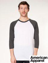 AA Unisex 3/4 Sleeve Raglan T-Shirt #BB453