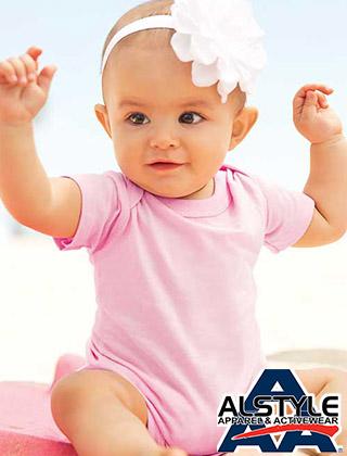 INFANT Alstyle Ringspun Onesies #1ZEE
