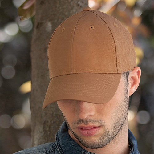 AJM Duck Canvas Work Hat #7D630M