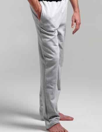 King Open Bottom Pkt Sweatpants #KF9022