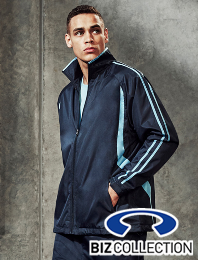 Biz Flash Track Jacket Top #J3150