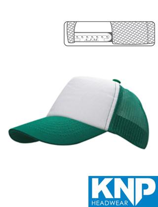 KNP Cotton Front Mesh Back Cap #CM5020